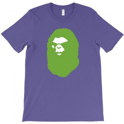 A Bathing Ape Lime T-shirt Designed By Toweroflandrose
