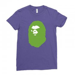 a bathing ape lime Ladies Fitted T-Shirt | Artistshot