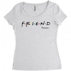 friend forever Women's Triblend Scoop T-shirt | Artistshot