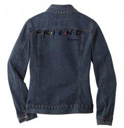 friend forever Ladies Denim Jacket | Artistshot