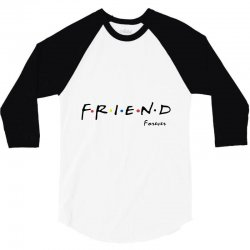 friend forever 3/4 Sleeve Shirt | Artistshot