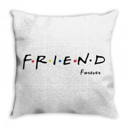 friend forever Throw Pillow | Artistshot