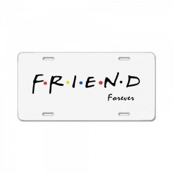 friend forever License Plate | Artistshot