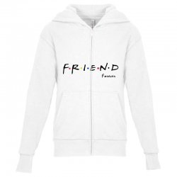 friend forever Youth Zipper Hoodie | Artistshot