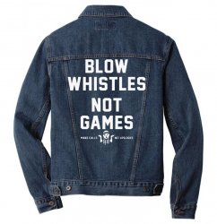 blow whistles Men Denim Jacket | Artistshot