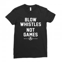 blow whistles Ladies Fitted T-Shirt | Artistshot