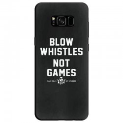 blow whistles Samsung Galaxy S8 Case | Artistshot