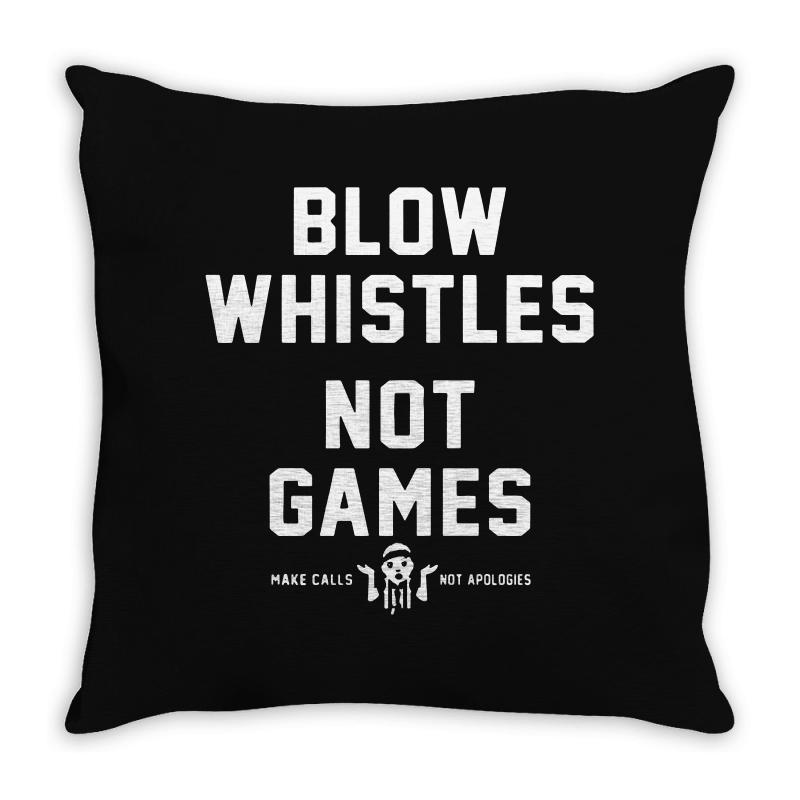 Blow Whistles Throw Pillow | Artistshot