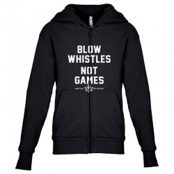 blow whistles Youth Zipper Hoodie | Artistshot