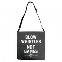 blow whistles Adjustable Strap Totes | Artistshot