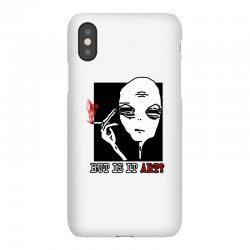 the alien believe sarcastic iPhoneX Case | Artistshot