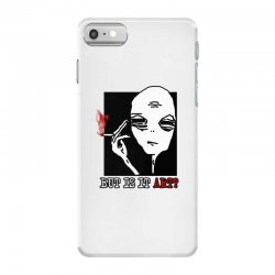 the alien believe sarcastic iPhone 7 Case | Artistshot