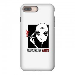 the alien believe sarcastic iPhone 8 Plus Case | Artistshot