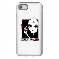 the alien believe sarcastic iPhone 8 Case | Artistshot