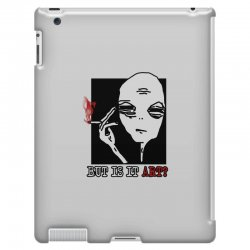 the alien believe sarcastic iPad 3 and 4 Case | Artistshot