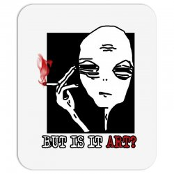 the alien believe sarcastic Mousepad | Artistshot
