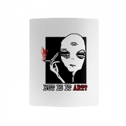the alien believe sarcastic Mug | Artistshot
