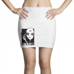 the alien believe sarcastic Mini Skirts | Artistshot