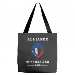 the alliance of american 2019 Tote Bags | Artistshot