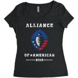 the alliance of american 2019 Women's Triblend Scoop T-shirt | Artistshot