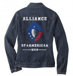 the alliance of american 2019 Ladies Denim Jacket | Artistshot