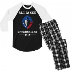the alliance of american 2019 Men's 3/4 Sleeve Pajama Set | Artistshot