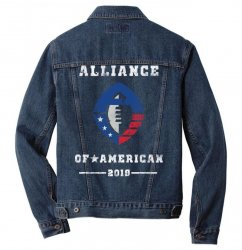the alliance of american 2019 Men Denim Jacket | Artistshot