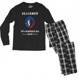 the alliance of american 2019 Men's Long Sleeve Pajama Set | Artistshot