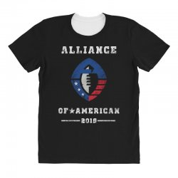 the alliance of american 2019 All Over Women's T-shirt | Artistshot