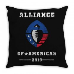 the alliance of american 2019 Throw Pillow | Artistshot