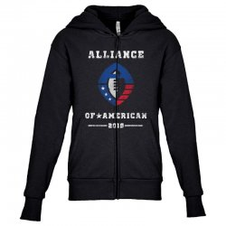 the alliance of american 2019 Youth Zipper Hoodie | Artistshot