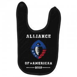 the alliance of american 2019 Baby Bibs | Artistshot