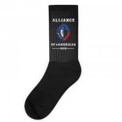 the alliance of american 2019 Socks | Artistshot