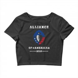 the alliance of american 2019 Crop Top | Artistshot