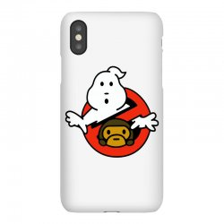 ghostbusters and bape iPhoneX Case   Artistshot