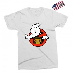 ghostbusters and bape Exclusive T-shirt   Artistshot