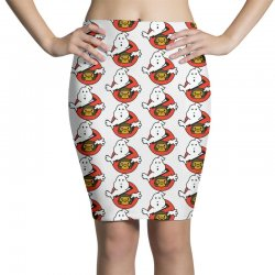 ghostbusters and bape Pencil Skirts   Artistshot