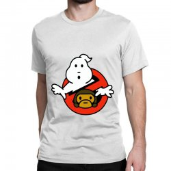 ghostbusters and bape Classic T-shirt   Artistshot