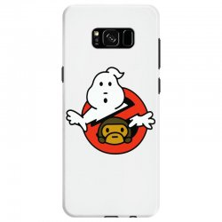 ghostbusters and bape Samsung Galaxy S8 Case   Artistshot