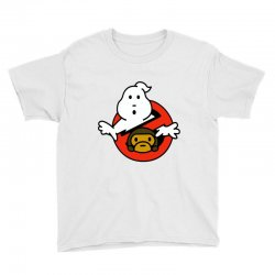 ghostbusters and bape Youth Tee   Artistshot