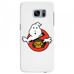 ghostbusters and bape Samsung Galaxy S7 Edge Case   Artistshot