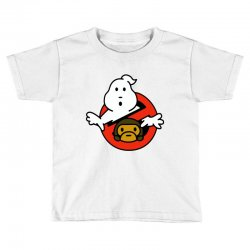 ghostbusters and bape Toddler T-shirt   Artistshot