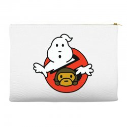 ghostbusters and bape Accessory Pouches   Artistshot