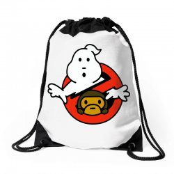 ghostbusters and bape Drawstring Bags | Artistshot
