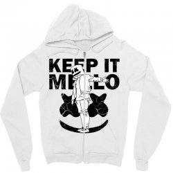 funny style keep it marshmello Zipper Hoodie | Artistshot