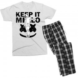 funny style keep it marshmello Men's T-shirt Pajama Set | Artistshot
