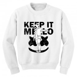 funny style keep it marshmello Youth Sweatshirt | Artistshot