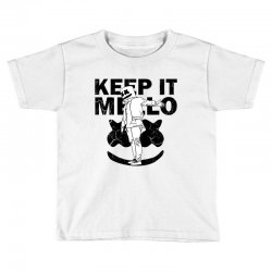 funny style keep it marshmello Toddler T-shirt | Artistshot