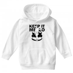 funny style keep it marshmello Youth Hoodie | Artistshot