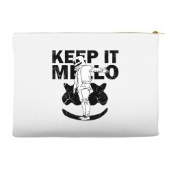 funny style keep it marshmello Accessory Pouches | Artistshot